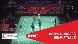 【Video】Marcus Fernaldi GIDEON・Kevin Sanjaya SUKAMULJO VS LIU Cheng・ZHANG Nan, bán kết Phúc Châu mở cửa năm 2018