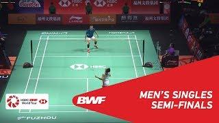 【Video】Kento MOMOTA VS CHEN Long, bán kết Phúc Châu mở cửa năm 2018