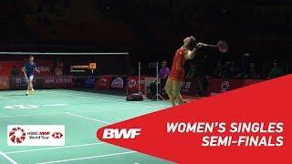 【Video】CHEN Yufei VS Carolina MARIN, bán kết Phúc Châu mở cửa năm 2018