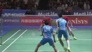 【Video】LI Junhui・LIU Yuchen VS Mohammad AHSAN・Hendra SETIAWAN, bán kết YONEX Mở Nhật Bản