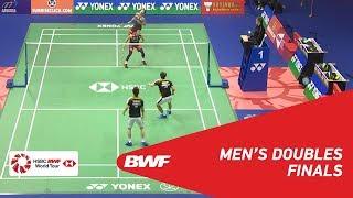 【Video】Marcus Fernaldi GIDEON・Kevin Sanjaya SUKAMULJO VS Takeshi KAMURA・Keigo SONODA, chung kết YONEX-SUNRISE Hồng Kông Mở 2018