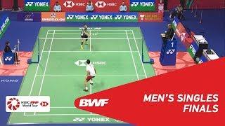 【Video】SON Wan Ho VS Kenta NISHIMOTO, chung kết YONEX-SUNRISE Hồng Kông Mở 2018
