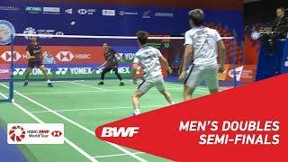 【Video】Marcus Fernaldi GIDEON・Kevin Sanjaya SUKAMULJO VS Mohammad AHSAN・Hendra SETIAWAN, bán kết YONEX-SUNRISE Hồng Kông Mở 2018