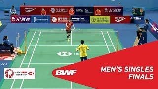 【Video】SON Wan Ho VS LEE Zii Jia, chung kết Masters Hàn Quốc 2018