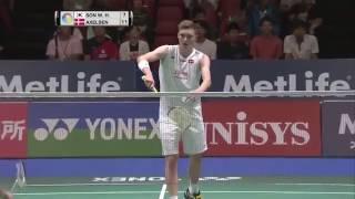 【Video】SON Wan Ho VS Viktor AXELSEN, tứ kết YONEX Mở Nhật Bản