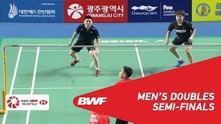 【Video】PO Li-Wei・WANG Chi-Lin VS KIM Sa Rang・Boon Heong TAN, bán kết Masters Hàn Quốc 2018