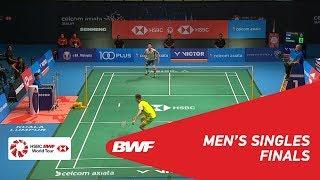 【Video】LEE Chong Wei VS Kento MOMOTA, chung kết CELCOM AXIATA Malaysia Mở cửa năm 2018