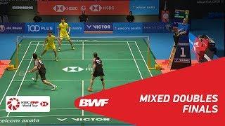 【Video】ZHENG Siwei・HUANG Yaqiong VS WANG Yilyu・HUANG Dongping, chung kết CELCOM AXIATA Malaysia Mở cửa năm 2018