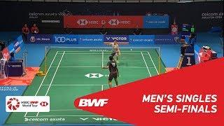 【Video】KIDAMBI Srikanth VS Kento MOMOTA, bán kết CELCOM AXIATA Malaysia Mở cửa năm 2018