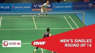 【Video】LEE Chong Wei VS LEE Hyun Il, vòng 16 CELCOM AXIATA Malaysia Mở cửa năm 2018