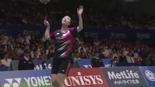 【Video】CHAN Peng Soon・Liu Ying GOH VS KIM Gi Jung・SHIN Seung Chan, tứ kết YONEX Mở Nhật Bản