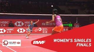 【Video】PUSARLA V. Sindhu VS Nozomi OKUHARA, khác Vòng chung kết giải đấu HSBC BWF World 2018