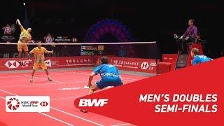 【Video】Hiroyuki ENDO・Yuta WATANABE VS Kim ASTRUP・Anders Skaarup RASMUSSEN, khác Vòng chung kết giải đấu HSBC BWF World 2018