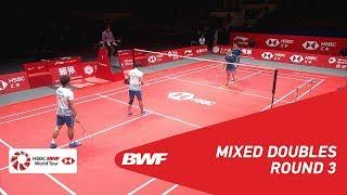 【Video】ZHENG Siwei・HUANG Yaqiong VS Dechapol PUAVARANUKROH・Sapsiree TAERATTANACHAI, khác Vòng chung kết giải đấu HSBC BWF World