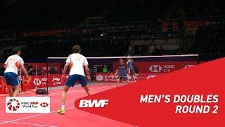 【Video】LI Junhui・LIU Yuchen VS Marcus Fernaldi GIDEON・Kevin Sanjaya SUKAMULJO, khác Vòng chung kết giải đấu HSBC BWF World 2018