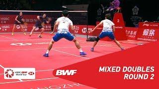 【Video】Dechapol PUAVARANUKROH・Sapsiree TAERATTANACHAI VS Marcus ELLIS・Lauren SMITH, khác Vòng chung kết giải đấu HSBC BWF World