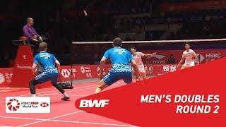 【Video】ZHOU Haodong VS Kim ASTRUP, khác Vòng chung kết giải đấu HSBC BWF World 2018
