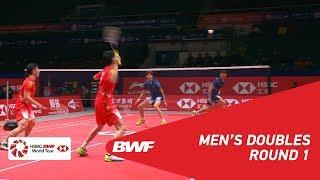 【Video】ZHOU Haodong VS LIU Yuchen, khác Vòng chung kết giải đấu HSBC BWF World 2018
