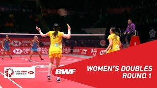 【Video】Mayu MATSUMOTO・Wakana NAGAHARA VS Gabriela STOEVA・Stefani STOEVA, khác Vòng chung kết giải đấu HSBC BWF World 2018