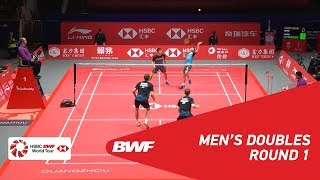 【Video】Marcus Fernaldi GIDEON・Kevin Sanjaya SUKAMULJO VS Kim ASTRUP・Anders Skaarup RASMUSSEN, khác Vòng chung kết giải đấu HSBC