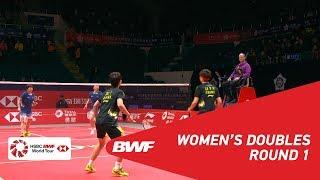 【Video】DU Yue・LI Yinhui VS CHEN Qingchen・JIA Yifan, khác Vòng chung kết giải đấu HSBC BWF World 2018