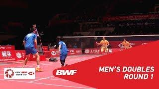 【Video】Hiroyuki ENDO・Yuta WATANABE VS Mohammad AHSAN・Hendra SETIAWAN, khác Vòng chung kết giải đấu HSBC BWF World 2018