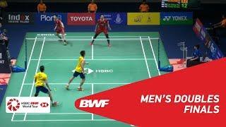 【Video】GOH V Shem・TAN Wee Kiong VS LU Ching Yao・YANG Po Han, chung kết NGUYÊN TẮC SIRIVANNAVari Thái Lan 2019
