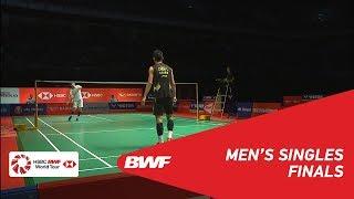【Video】CHEN Long VS SON Wan Ho, chung kết Thạc sĩ Malaysia PERODUA 2019