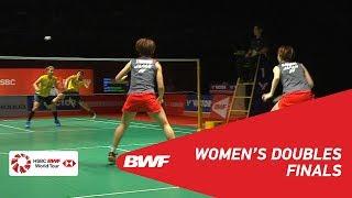 【Video】Yuki FUKUSHIMA・Sayaka HIROTA VS Greysia POLII・Apriyani RAHAYU, chung kết Thạc sĩ Malaysia PERODUA 2019