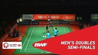 【Video】ONG Yew Sin・TEO Ee Yi VS Aaron CHIA・Wooi Yik SOH, bán kết Thạc sĩ Malaysia PERODUA 2019