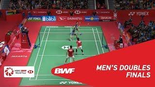 【Video】Marcus Fernaldi GIDEON・Kevin Sanjaya SUKAMULJO VS Mohammad AHSAN・Hendra SETIAWAN, chung kết DAIHATSU Indonesia Masters 20