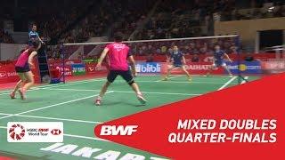 【Video】ZHENG Siwei・HUANG Yaqiong VS GOH Soon Huat・Shevon Jemie LAI, tứ kết DAIHATSU Indonesia Masters 2019