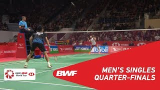 【Video】Kento MOMOTA VS Anthony Sinisuka GINTING, tứ kết DAIHATSU Indonesia Masters 2019