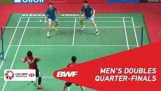 【Video】Mohammad AHSAN・Hendra SETIAWAN VS LI Junhui・LIU Yuchen, tứ kết DAIHATSU Indonesia Masters 2019