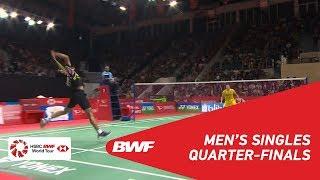 【Video】KIDAMBI Srikanth VS Jonatan CHRISTIE, tứ kết DAIHATSU Indonesia Masters 2019