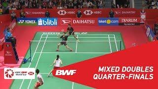 【Video】Tontowi AHMAD・Liliyana NATSIR VS Takuro HOKI・Wakana NAGAHARA, tứ kết DAIHATSU Indonesia Masters 2019