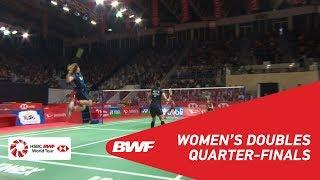 【Video】Greysia POLII・Apriyani RAHAYU VS Jongkolphan KITITHARAKUL・Rawinda PRAJONGJAI, tứ kết DAIHATSU Indonesia Masters 2019