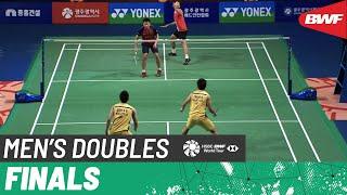【Video】LEE Yang・WANG Chi-Lin VS GOH V Shem・TAN Wee Kiong, chung kết Hàn Quốc thạc sĩ 2019