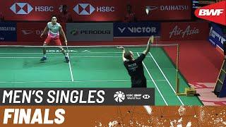 【Video】Viktor AXELSEN VS Kento MOMOTA, chung kết Thạc sĩ Malaysia PERODUA 2020