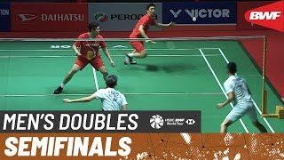 【Video】KIM Gi Jung・LEE Yong Dae VS Fajar ALFIAN・Muhammad Rian ARDIANTO, bán kết Thạc sĩ Malaysia PERODUA 2020