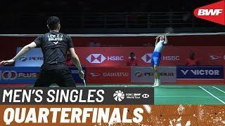 【Video】LEE Zii Jia VS SHI Yuqi, tứ kết Thạc sĩ Malaysia PERODUA 2020