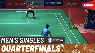 【Video】Jonatan CHRISTIE VS NG Ka Long Angus, tứ kết Thạc sĩ Malaysia PERODUA 2020