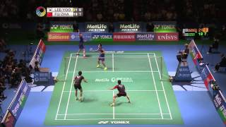 【Video】YOO Yeon Seong VS FU Haifeng, khác Yonex Open Japan