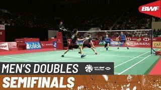 【Video】Marcus Fernaldi GIDEON・Kevin Sanjaya SUKAMULJO VS Aaron CHIA・Wooi Yik SOH, bán kết DAIHATSU Indonesia Masters 2020