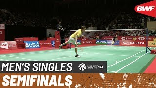 【Video】Anders ANTONSEN VS LEE Cheuk Yiu, bán kết DAIHATSU Indonesia Masters 2020