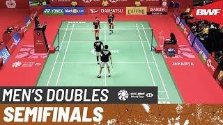 【Video】Mohammad AHSAN・Hendra SETIAWAN VS Fajar ALFIAN・Muhammad Rian ARDIANTO, bán kết DAIHATSU Indonesia Masters 2020
