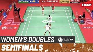 【Video】Greysia POLII・Apriyani RAHAYU VS KIM So Yeong・KONG Hee Yong, bán kết DAIHATSU Indonesia Masters 2020