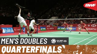 【Video】Fajar ALFIAN・Muhammad Rian ARDIANTO VS Kim ASTRUP・Anders Skaarup RASMUSSEN, tứ kết DAIHATSU Indonesia Masters 2020