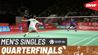 【Video】Jonatan CHRISTIE VS Anders ANTONSEN, tứ kết DAIHATSU Indonesia Masters 2020