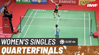 【Video】Michelle LI VS Ratchanok INTANON, tứ kết DAIHATSU Indonesia Masters 2020